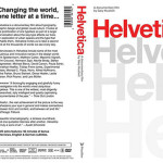 Cover Pelicula Helvética 2007, documental por Gary Hustwit